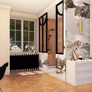 Projet S. La chambre de Clémentine